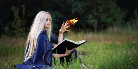 casting magic spells