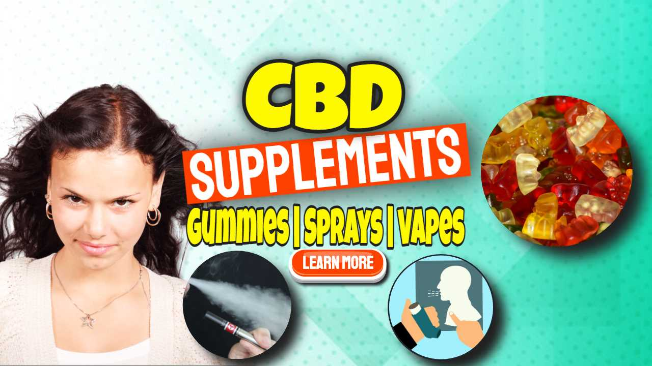 "Featured image text: ""CBD Supplements""."